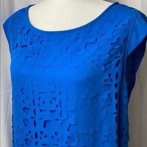 ⭐️ 3/$25 Apt. 9 Blue with layered cutouts